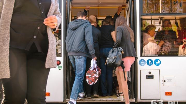 В Самаре жители просят вернуть низкопольные автобусы на маршрут №61