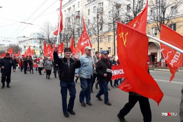 Коммунисты грозят устроить несанкционированное мероприятие, если им не дадут добро на проведение демонстрации