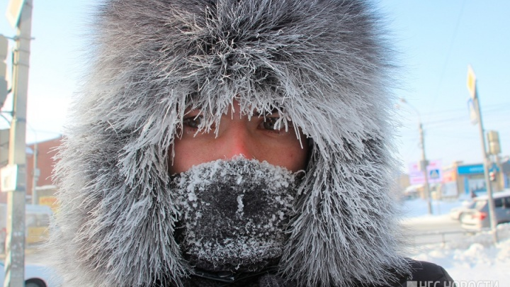 30-градусные морозы и мощный ветер подступают к Красноярску