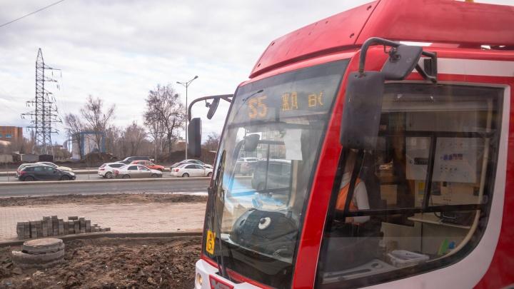 До «Самара Арены» пустят регулярный трамвайный маршрут