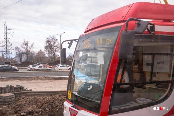 Для нового трамвайного маршрута выбирают номер