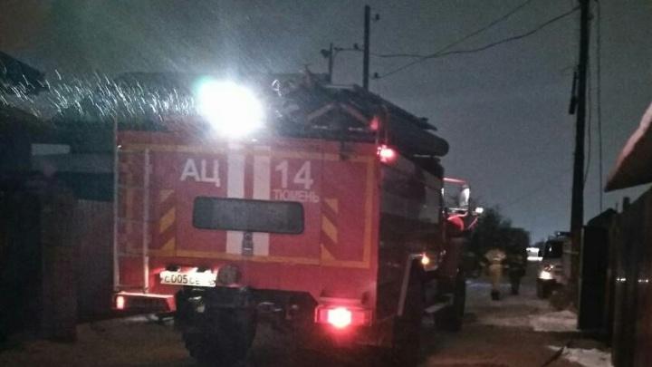 Ночью на Щербакова во время пожара погиб мужчина