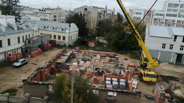 Под точечную застройку в центре Ярославля мэрия изменила назначение земли
