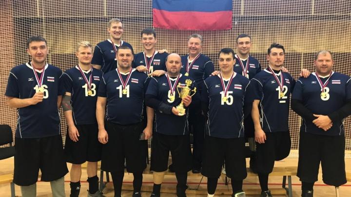 Екатеринбургские волейболисты-паралимпийцы в 18-й раз подряд завоевали золото на чемпионате России