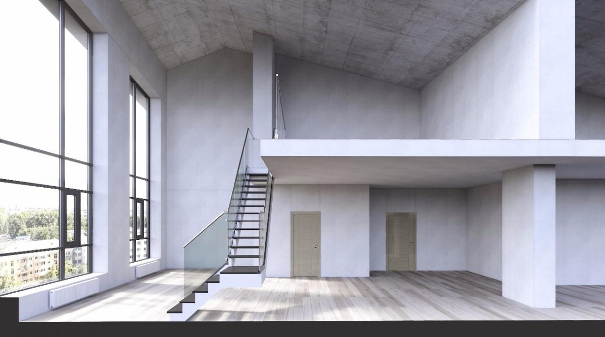 На мансарде можно оформить спальню, гостевую комнату или лаунж-зону