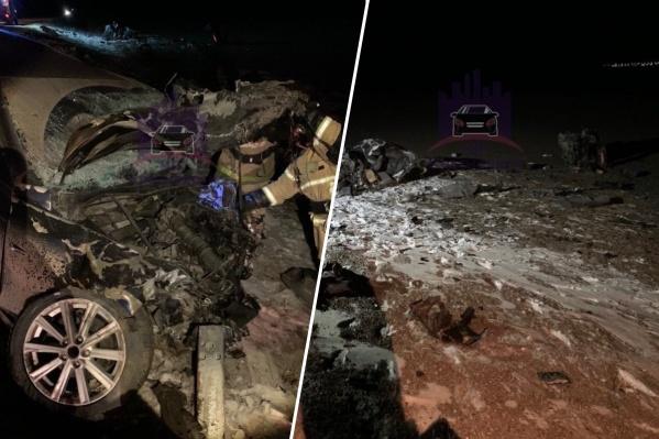 Водитель «Тойоты» погиб на месте