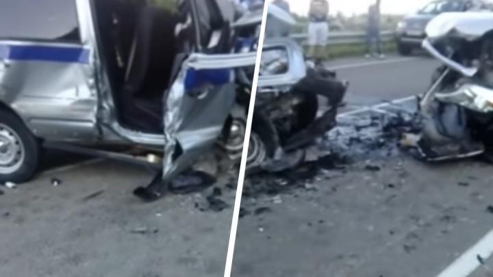Красноярец пошел под суд за жесткий таран экипажа полиции. После ДТП на трассе погибли 2 силовика