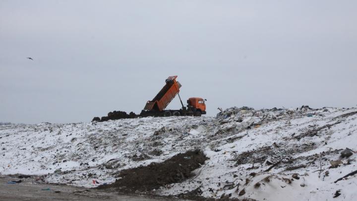 На полигоне «Преображенка» труп мужчины выпал из мусоровоза