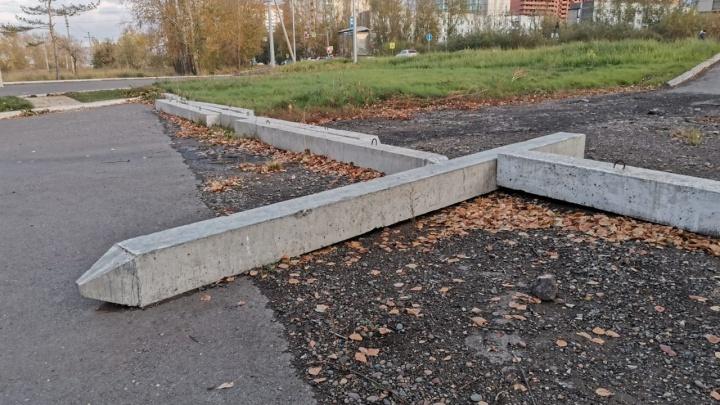 В мэрии Красноярска нашли виновных в отсутствии благоустройства парка у Мясокомбината