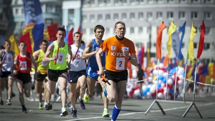 В центре Челябинска из-за эстафеты на полдня ограничат движение транспорта