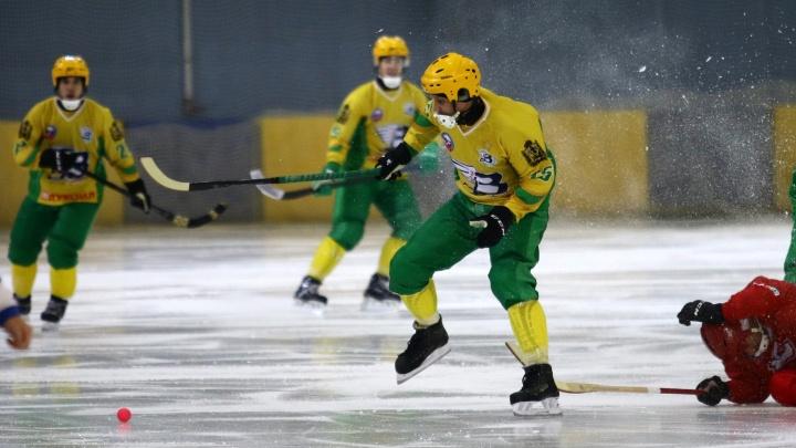 «Пока всё хорошо»: «Водник» обыграл нижегородский «Старт» на чемпионате России по хоккею с мячом