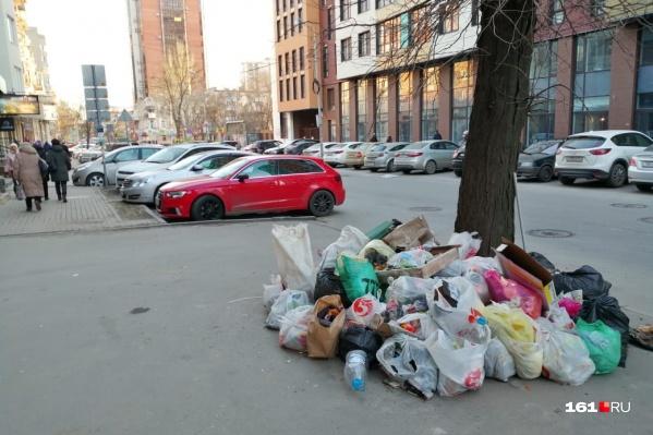 Вот такое иногда можно увидеть на центральных улицах Ростова