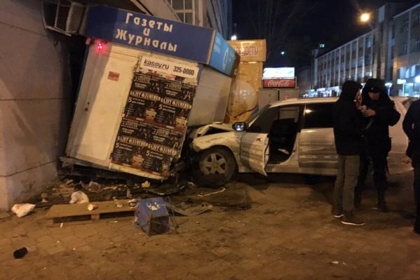 Водитель«Субару» пытался избежать столкновения с автомобилем такси