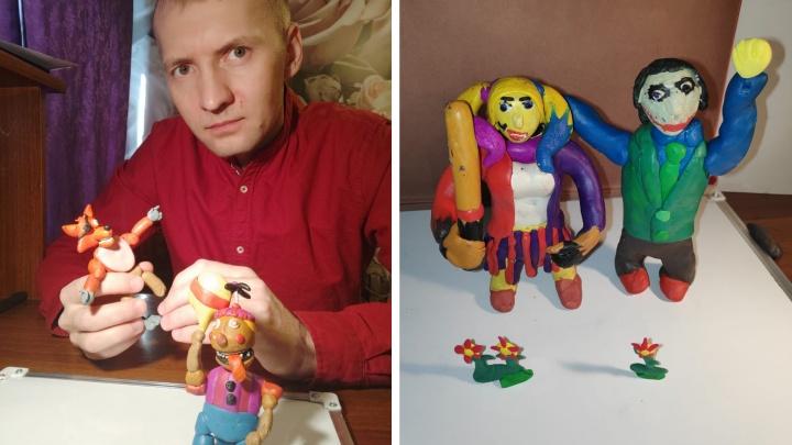 «Все думали, что я 11-летняя девочка»: сибиряк создаёт грустные пластилиновые мультики (их смотрят миллионы людей)