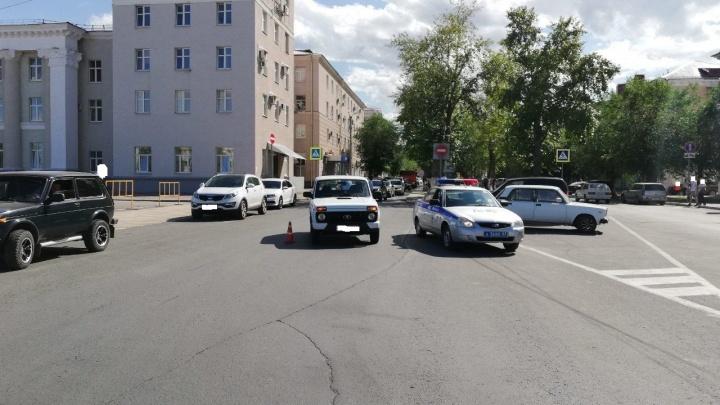В Самарской области водитель «Нивы» сбил мальчика на самокате