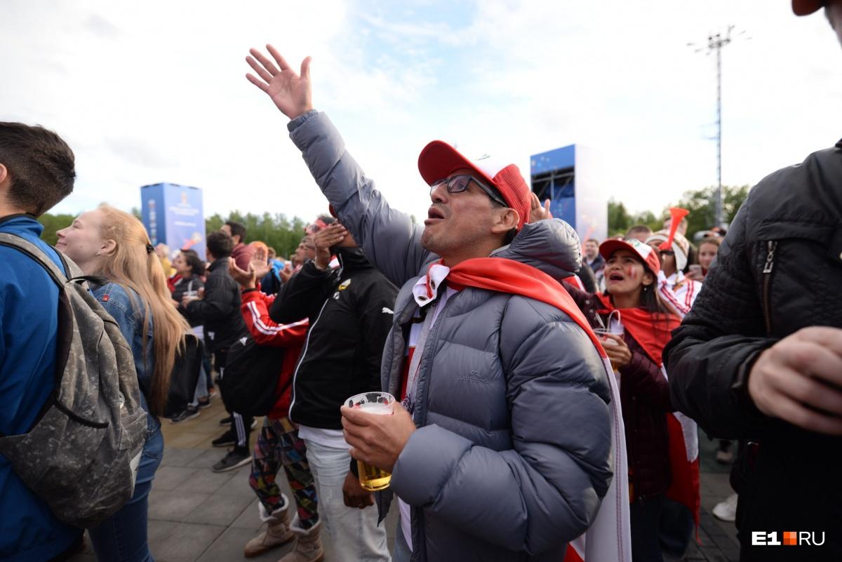 Онлайн-репортаж: перуанцы проиграли французам в Екатеринбурге и подняли на уши весь город