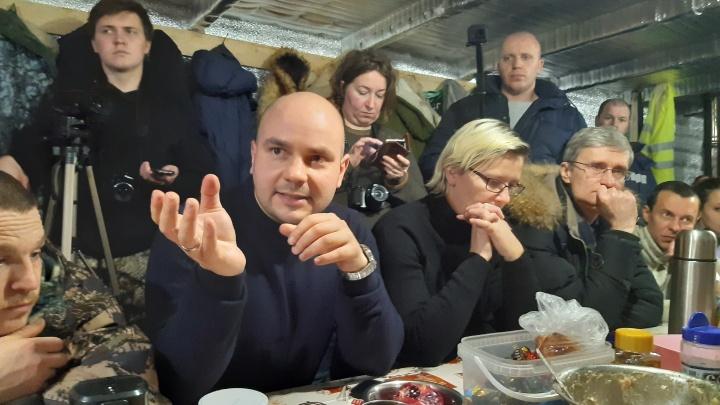 «Власть захочет у вас всё украсть»: что обсуждали экоактивисты с оппозиционерами на Шиесе