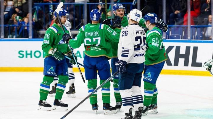 «Салават Юлаев» разгромил «Адмирал» в стартовой игре последней домашней серии