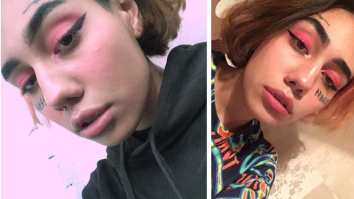 Девушка с серьгой в носу и татуировками сбежала из Томска в Новосибирск