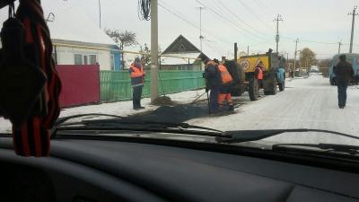 В Башкирии законодательно запретили класть асфальт в снег