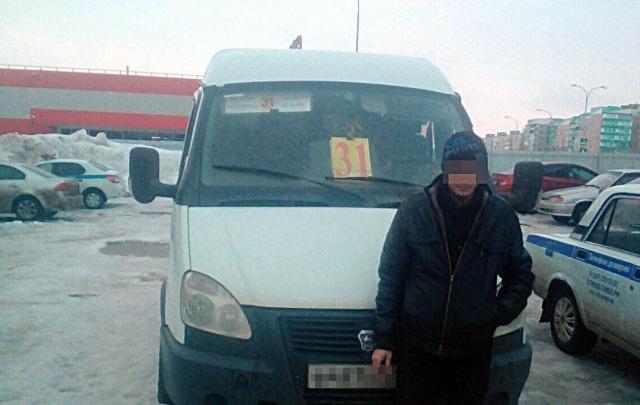 В Башкирии поймали водителя маршрутки без прав