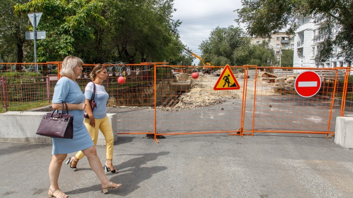 Вторая подряд: в Волгограде на три недели перекроют дорогу в Ворошиловском районе