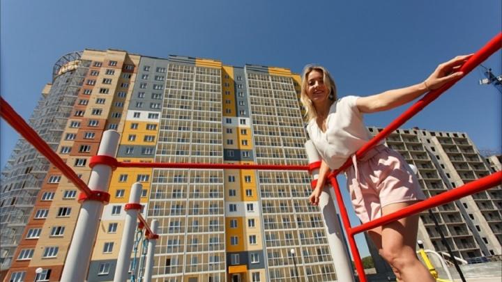 Томская домостроительная компания ввела первый дом в ЖК «Аквамарин» на берегу Яринского залива
