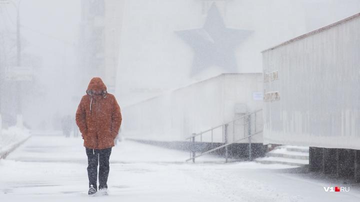 Волгоградцам обещают теплую и снежную рабочую неделю