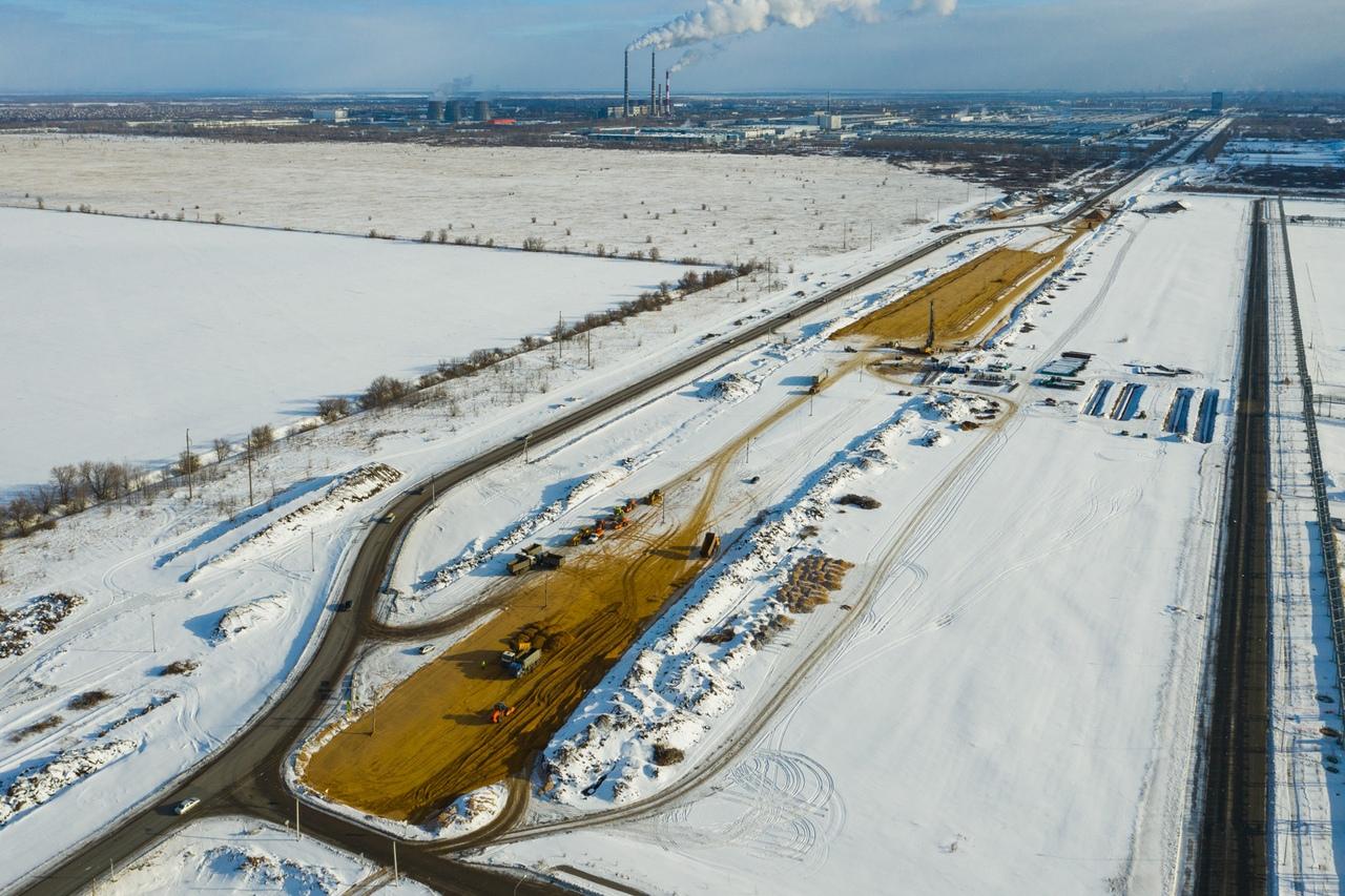 Реконструкция затронет участок длиной 7,6 км