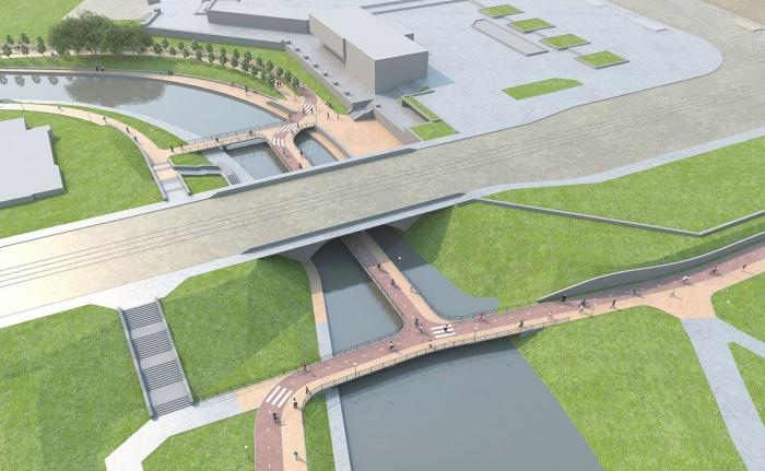 Такой вот «мост под мостом» горожане вытребовали у проектировщиков