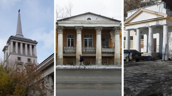 Одно разваливается, другое пустует: истории старинных екатеринбургских зданий с колоннами