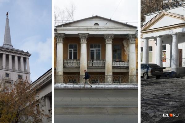 Истории этих зданий различаются, одним повезло больше, другим меньше