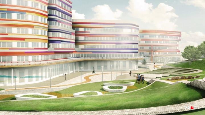 Скандальный проект кампуса, который планируют строить в логу Тюменки, прошел повторную госэкспертизу