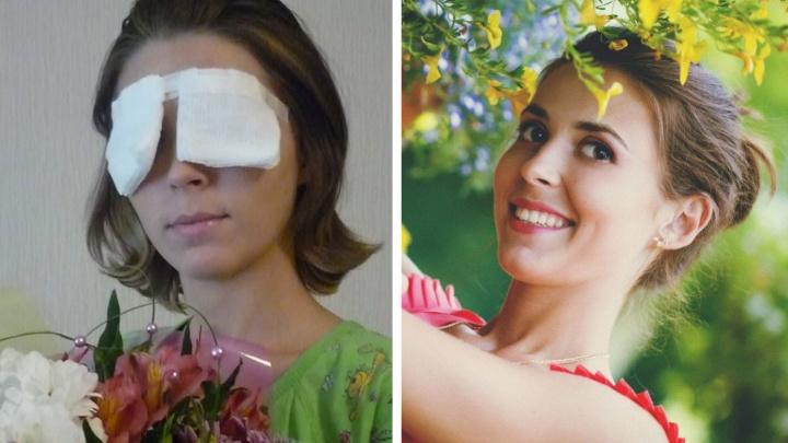 «Боялась, что мама будет ругать»: красавица ослепла и похудела до 35 килограммов после страшного ДТП