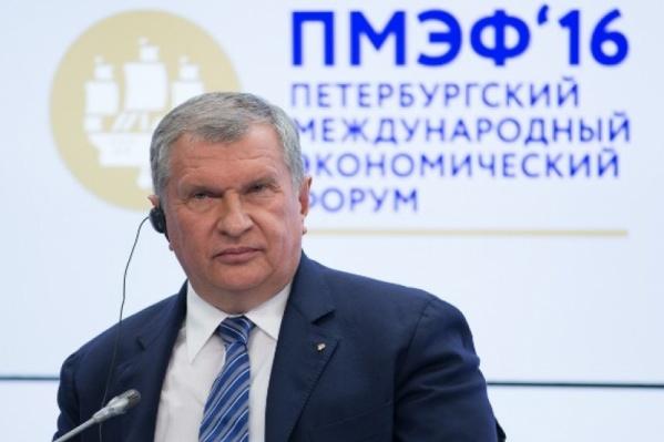 Игорь Сечин приехал на собрание директоров