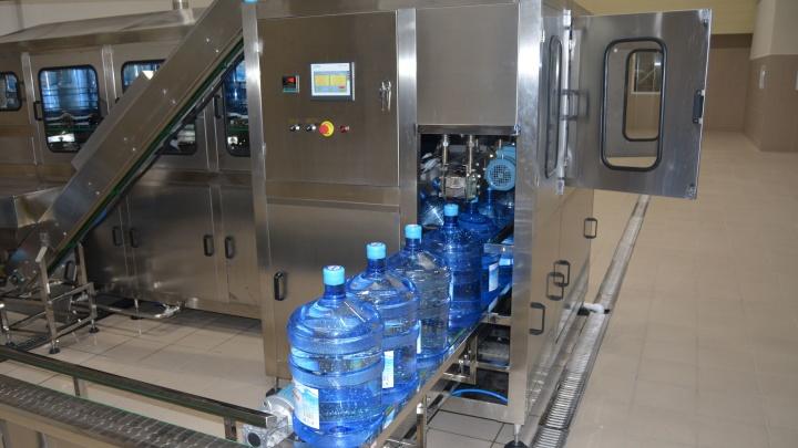 В поселке Волжском запустили производство природной бутилированной воды