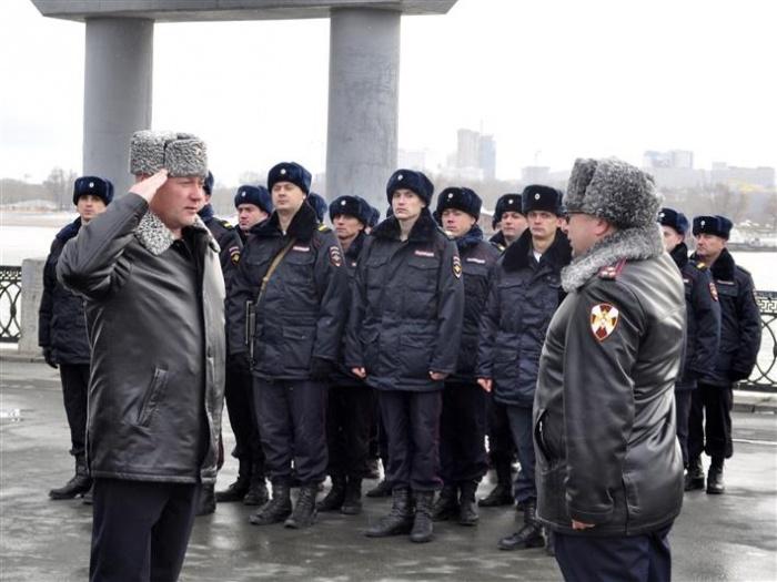 Награждение прошло на Михайловской набережной