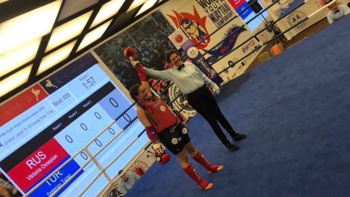 Свердловчане завоевали четыре медали на первенстве мира по тайскому боксу