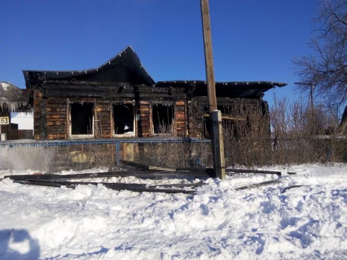 Тело ребенка нашли, когда тушили огонь