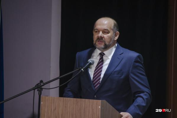 Игорь Орлов выступил с посланием областным депутатам
