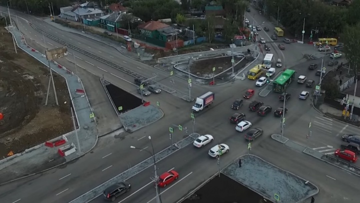 Мэрия назвала сроки открытия мегаперекрёстка Московская - Щорса после реконструкции