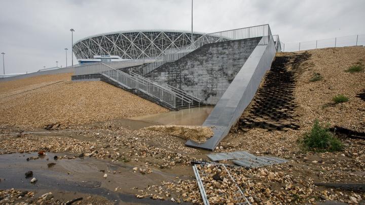 Затопленную Нулевую Продольную в Волгограде откроют завтра утром