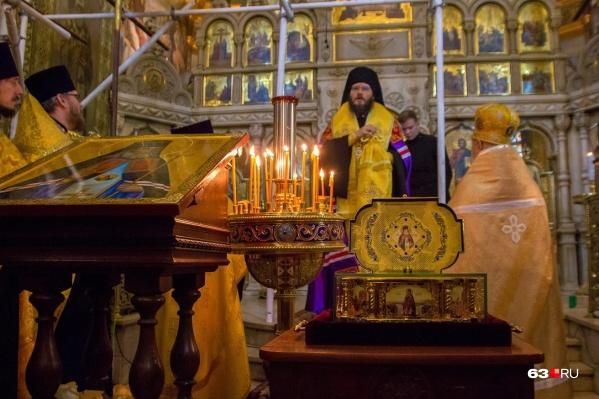 С 11 по 16 мая прикоснуться к мощам можно в Покровском кафедральном соборе
