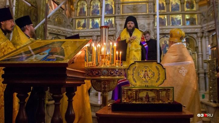 В Самарудоставили ковчег с мощами святителя Луки