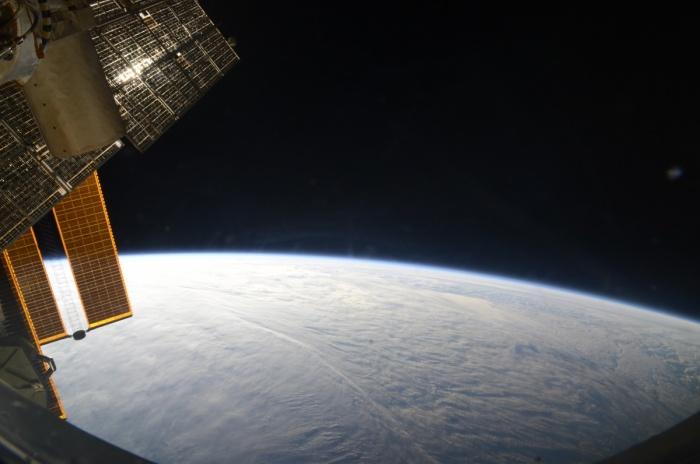 Этот снимок сделал екатеринбуржец Сергей Прокопьев, когда был на МКС