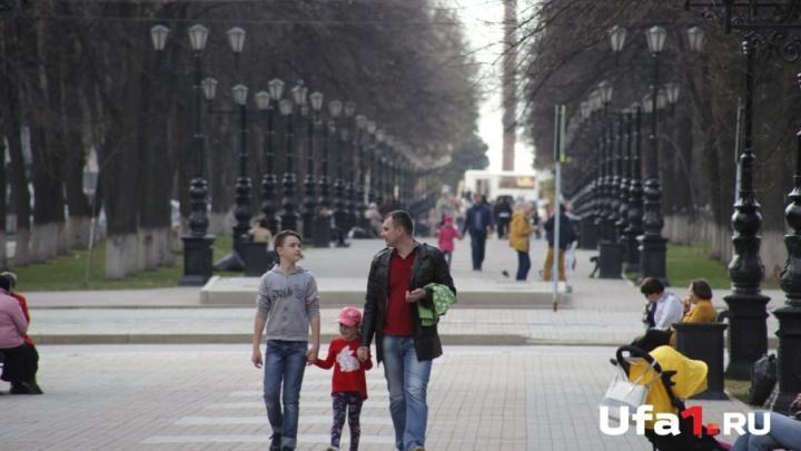 В Башкирию придёт кратковременное потепление