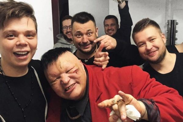 Элвин Грей и Станислав Барецкий после потасовки
