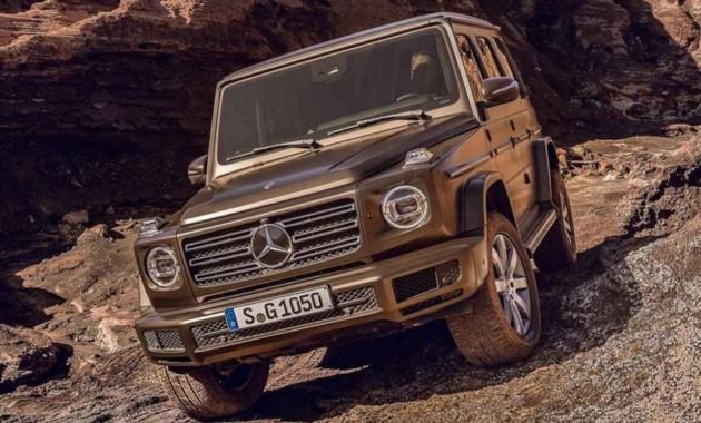 Mercedes показал внешность нового «Гелендвагена»