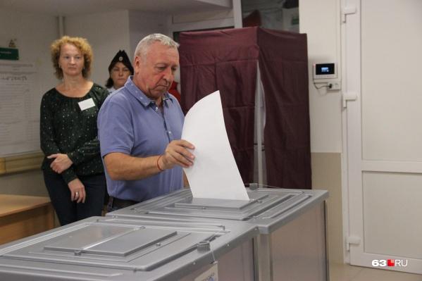 Явка на выборах превысила 40%