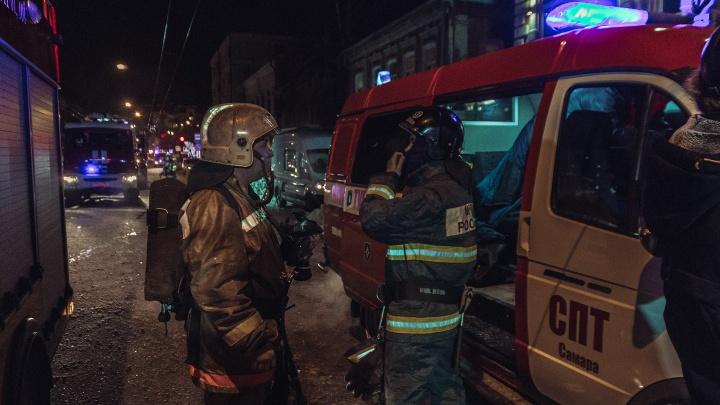 Атаковали пеной: в Самарской области из-за ДТП прохудился бензовоз